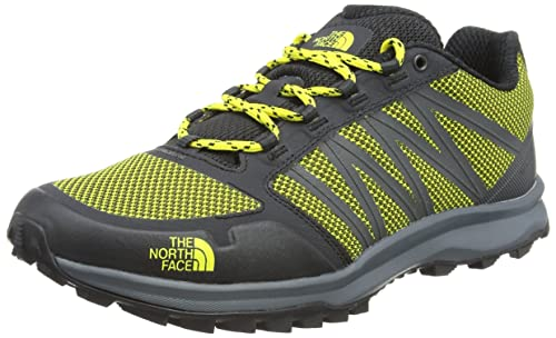 The North Face Litewave Fastpack Stivali da Escursionismo Uomo, Multicolore (TNF Black/Blazing Yellow), 42 EU