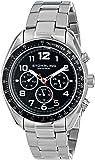 Stuhrling Original Men's 814.01 Octane Swiss Quartz Multifunction Stainless Steel Watch