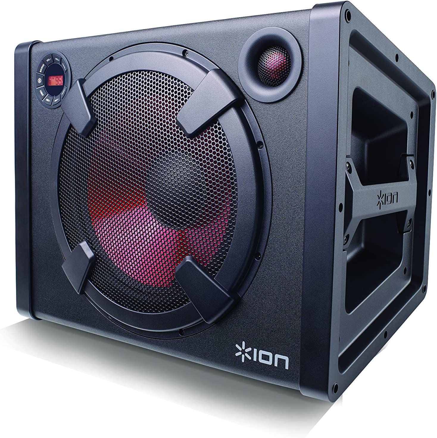 ION Audio Road Rider  9-watt Portable Bluetooth Mono Speaker System with  Rechargeable Battery + AC & DC Power Inputs