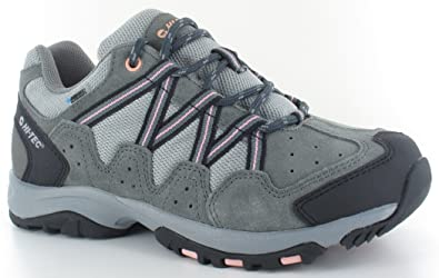 Hi-Tec RAMBLER WP WOMEN - Hiking shoes - charcoal/blush 2t6ALY