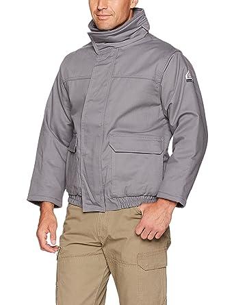 4d65ef84c296 Amazon.com  Bulwark Men s Insulated Bomber Jacket-Excel Fr ...