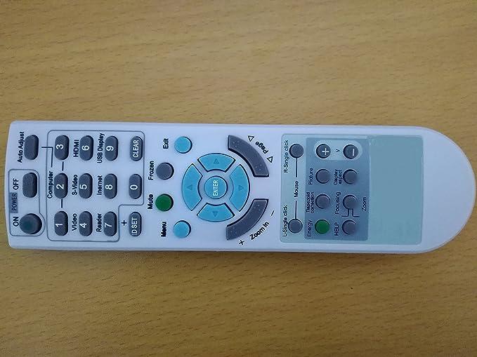 NP60 NP-M322W NP-M322X NP310 NP400 NP400C NP54 Replacement Projector Remote Control for NEC LT380 LT375