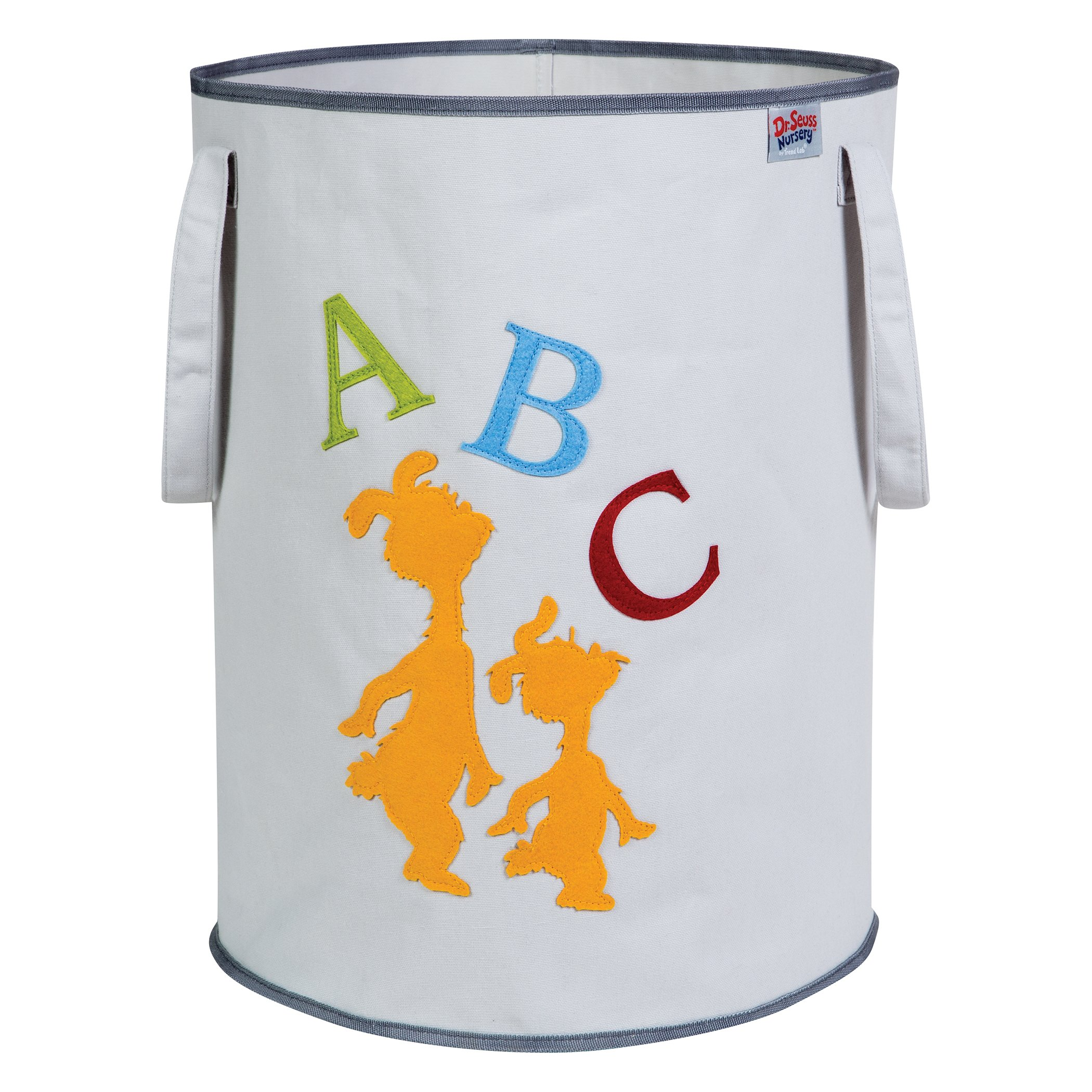Trend Lab Dr. Seuss ABC Storage Tote, Yellow/Green/Red/Blue/Gray