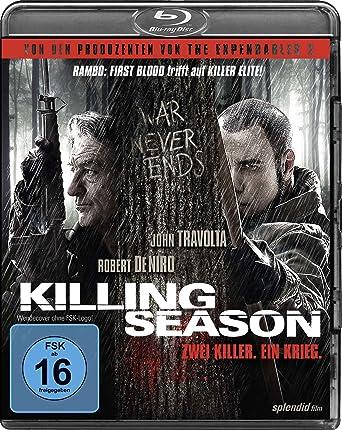 Killing Season Blu Ray