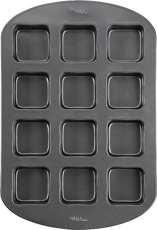 Perfect Results 12 Cavity Wilton Bar Baking Pan Mini Non-Stick