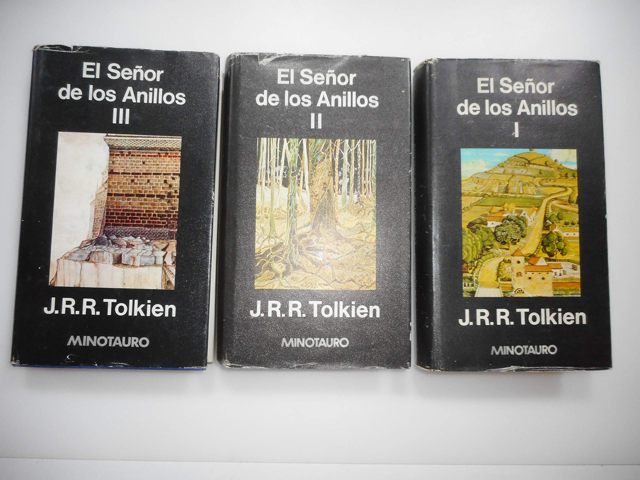 Señor de los anillos, el3 vols. tela: Amazon.es: Tolkien, J. R. R. ...