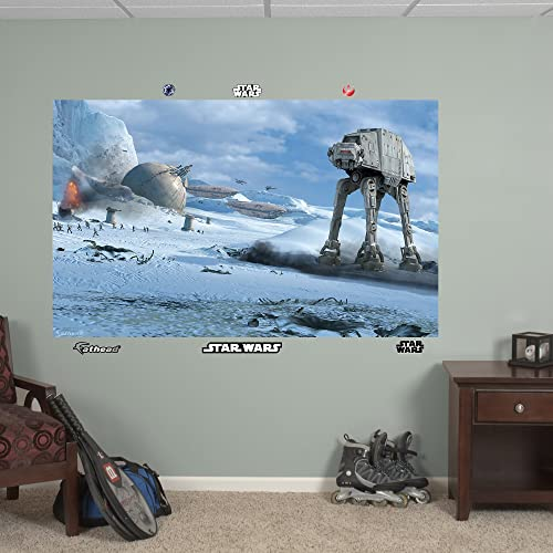 Fathead Wall Decal, AT-AT Battle Mural