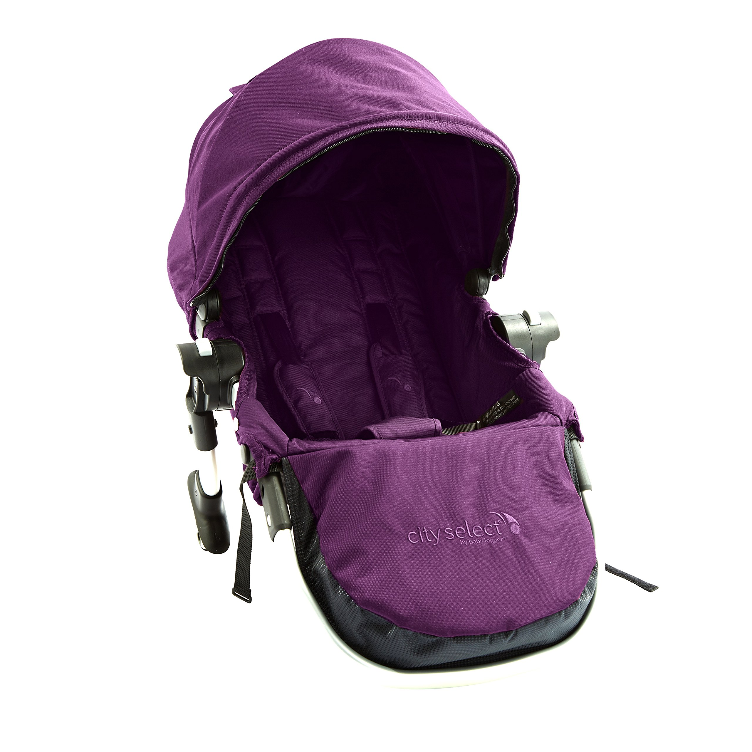 Baby Jogger City Select Silver Frame Second Seat Kit, Amethyst