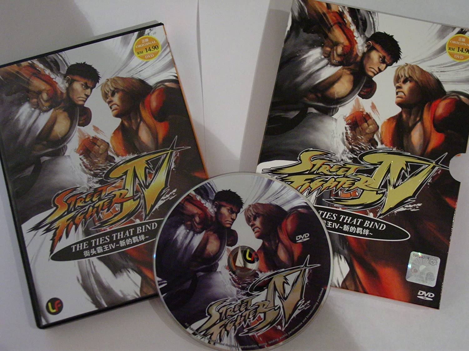 Amazon Com Street Fighter Iv The Ties That Bind Oav Complete Box Set Dvd Movies Tv