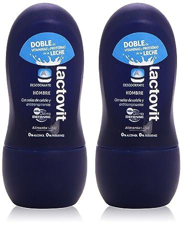 Lactovit Man Desodorante Roll-On 50Ml Set 2 Piezas 2017