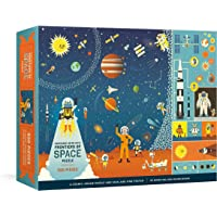 Professor Astro Cat's Frontiers of Space 500-Piece Puzzle: Cosmic Jigsaw Puzzle and Seek-and-Find Poster : Jigsaw Puzzles for Kids