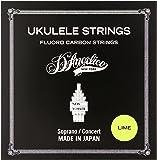D'Angelico ディアンジェリコ ウクレレ弦 ソプラノ・コンサート用 ASU-MED-LM(Medium)/LIME ライム