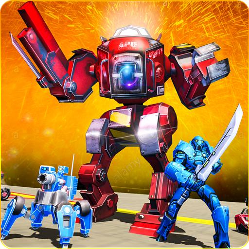 Action Tabs (Future Robot Battle Simulator: Futuristic Robot)