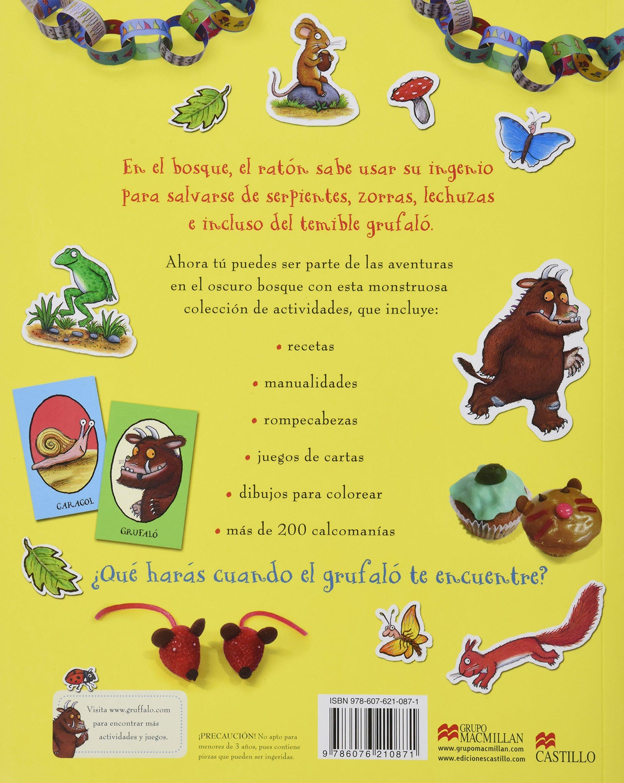 El Grufalo, libro de actividades;Castillo De La Lectura ...