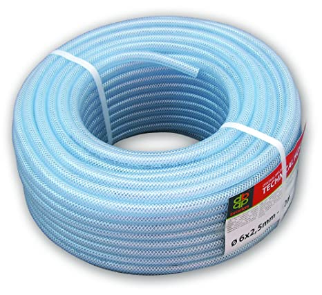 """PVC Braided Airline//Water Hose 1//2/"""" I//D Clear 30mtrs"""