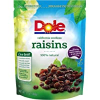 Dole 12 Ounce California Seedless Raisins