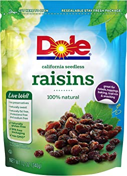 Dole 12 Ounce California Seedless Raisins