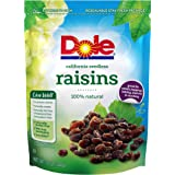 Dole California Seedless Raisins, 12 Ounce Pouch