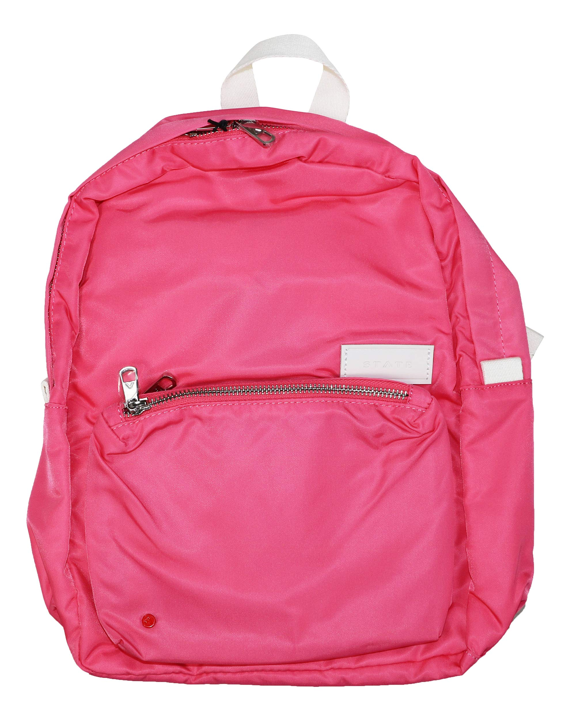 STATE Women's Mini Lorimer Backpack, Poppy, Pink, One Size by STATE Bags
