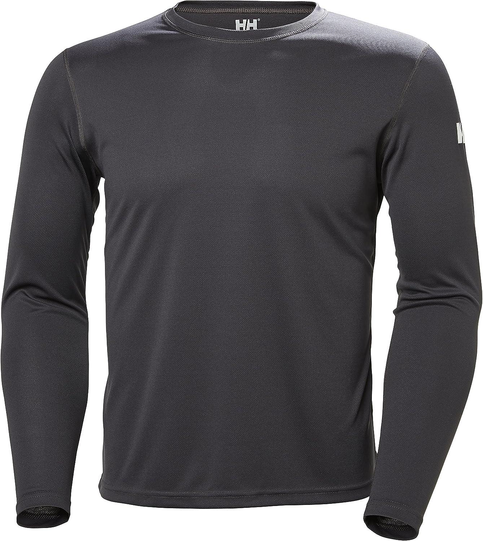 Helly Hansen Hombre Hh Merino Claro Baselayer Camiseta Tee Top Azul Deporte