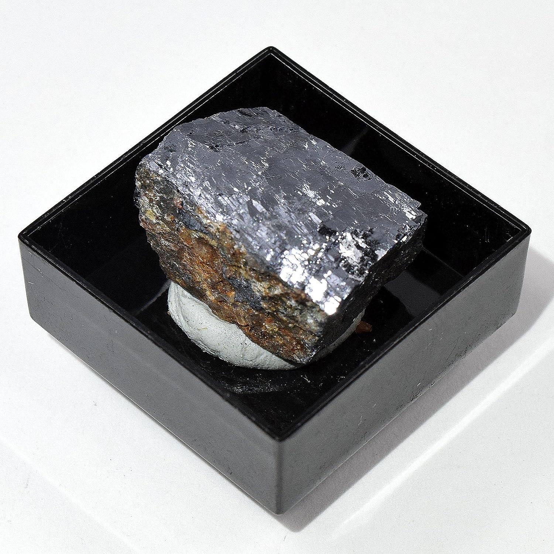 Espumador de cristal natural de Galena de 115 quilates en caja, color plateado brillante con piedras preciosas coleccionables de minerales – Marruecos: Amazon.es: Hogar