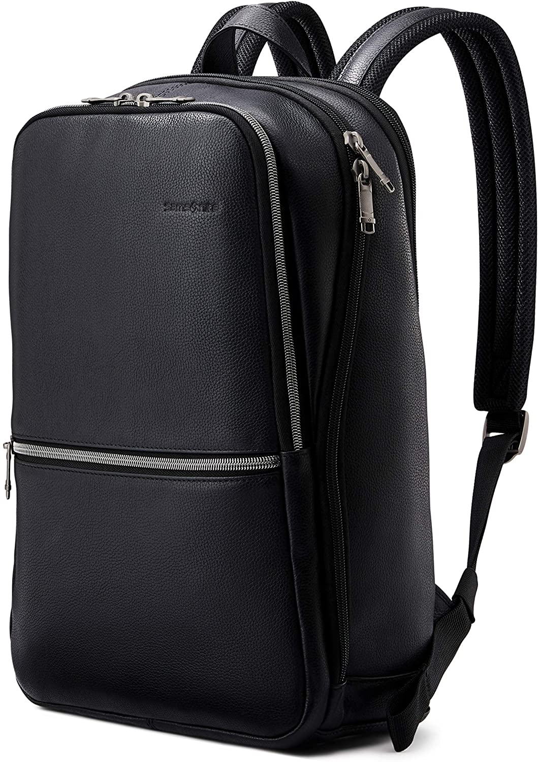 Samsonite Classic Leather Slim Backpack