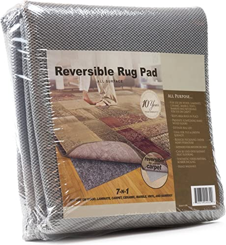 All-Surface Non-skid Area Rug Pad for 10-Feet by 14-Feet Rug