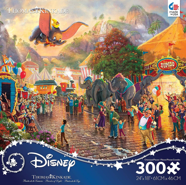c59bebf68fab Ceaco Ceaco Ceaco 222212 Thomas Kinkade Disney Dumbo Puzzle 300Piece ...