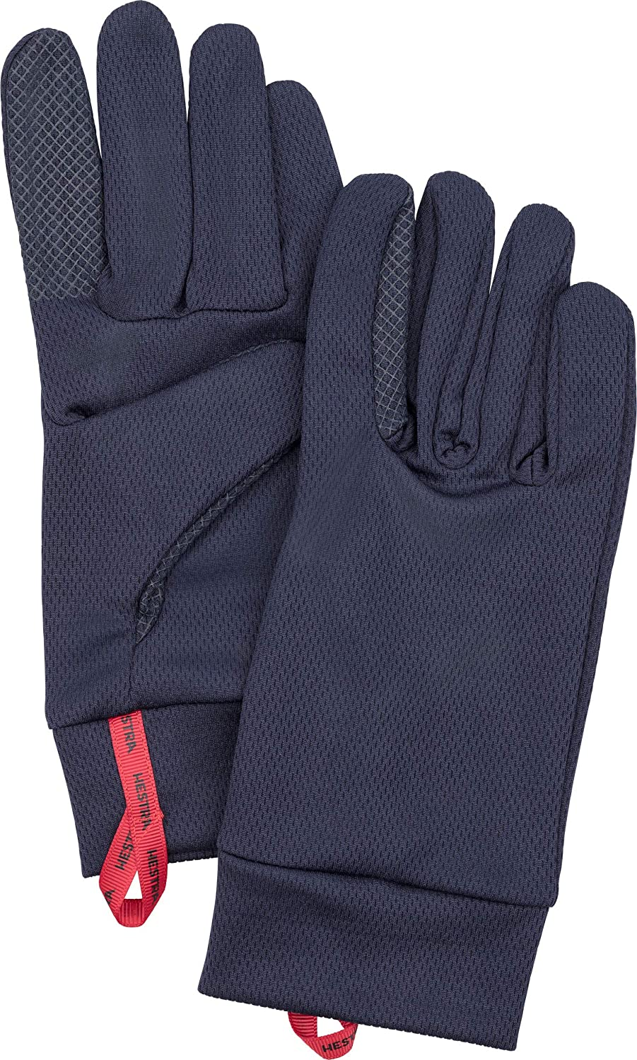 Hestra Touchscreen Gloves: Touch Point Dry Wool Liner-Base Layer, Run, Hike and Ski