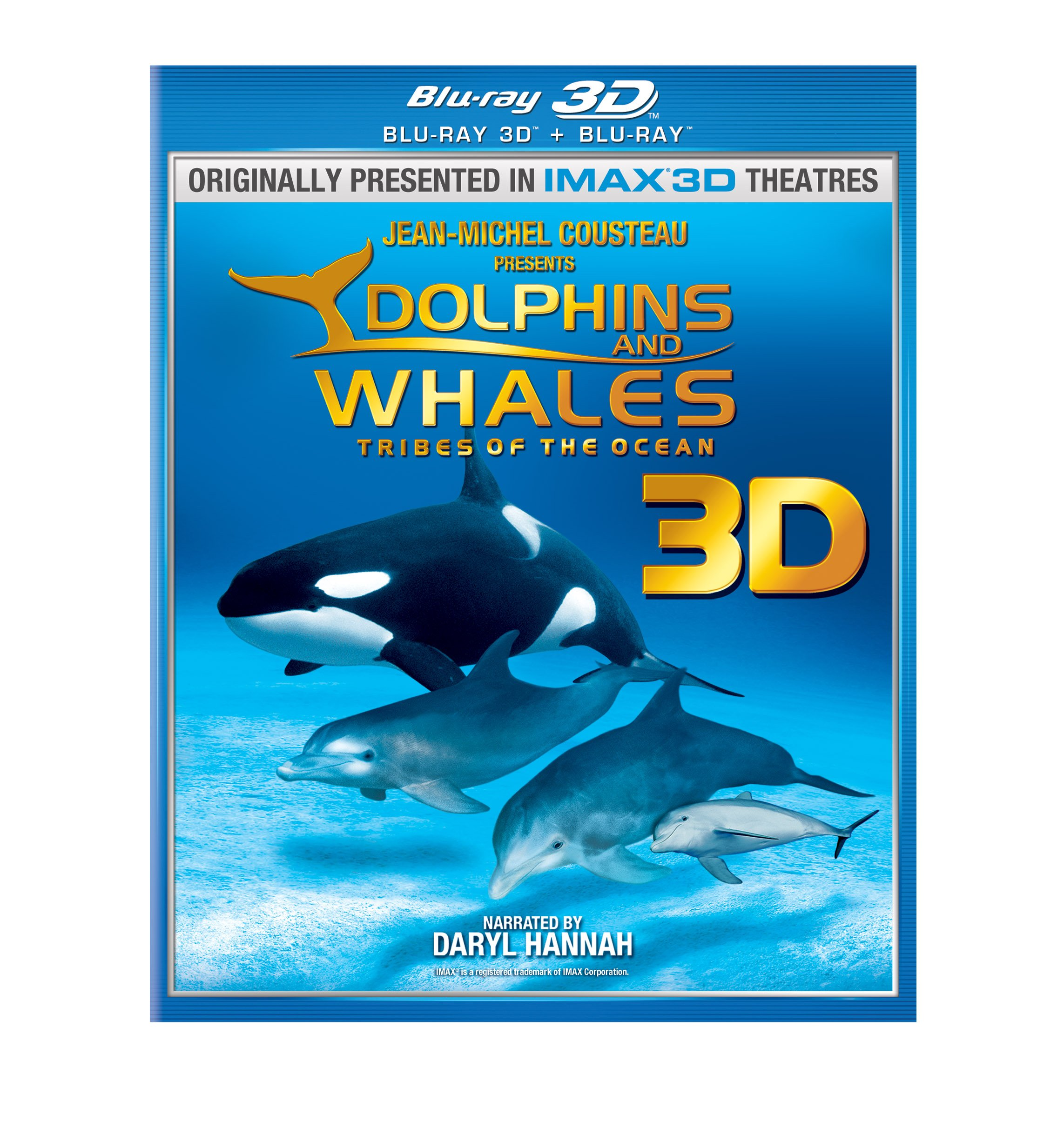 Blu-ray 3D : Dolphins and Whales 3D: Tribes of the Ocean (With Blu-Ray, Lenticular Cover, Slipsleeve Packaging, Widescreen, 3 Dimensional)