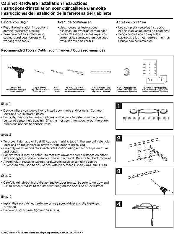Liberty PBF657-BSP-C 35mm Starfish Kitchen Cabinet Hardware Knob ...