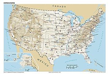 Amazoncom X Anchor Maps United States General Reference - Amazon maps