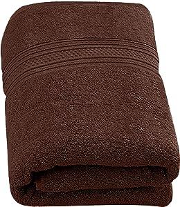 Utopia Towels 700 GSM Extra Large Bath Towel (35 x 70 Inches) - Luxury Bath Sheet, Dark Brown