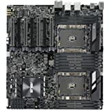 ASUS WS C621E Sage Extreme Power Intel Xeon Processor Workstation Motherboard for Two-way XEON CPU performance, with U.2, M.2