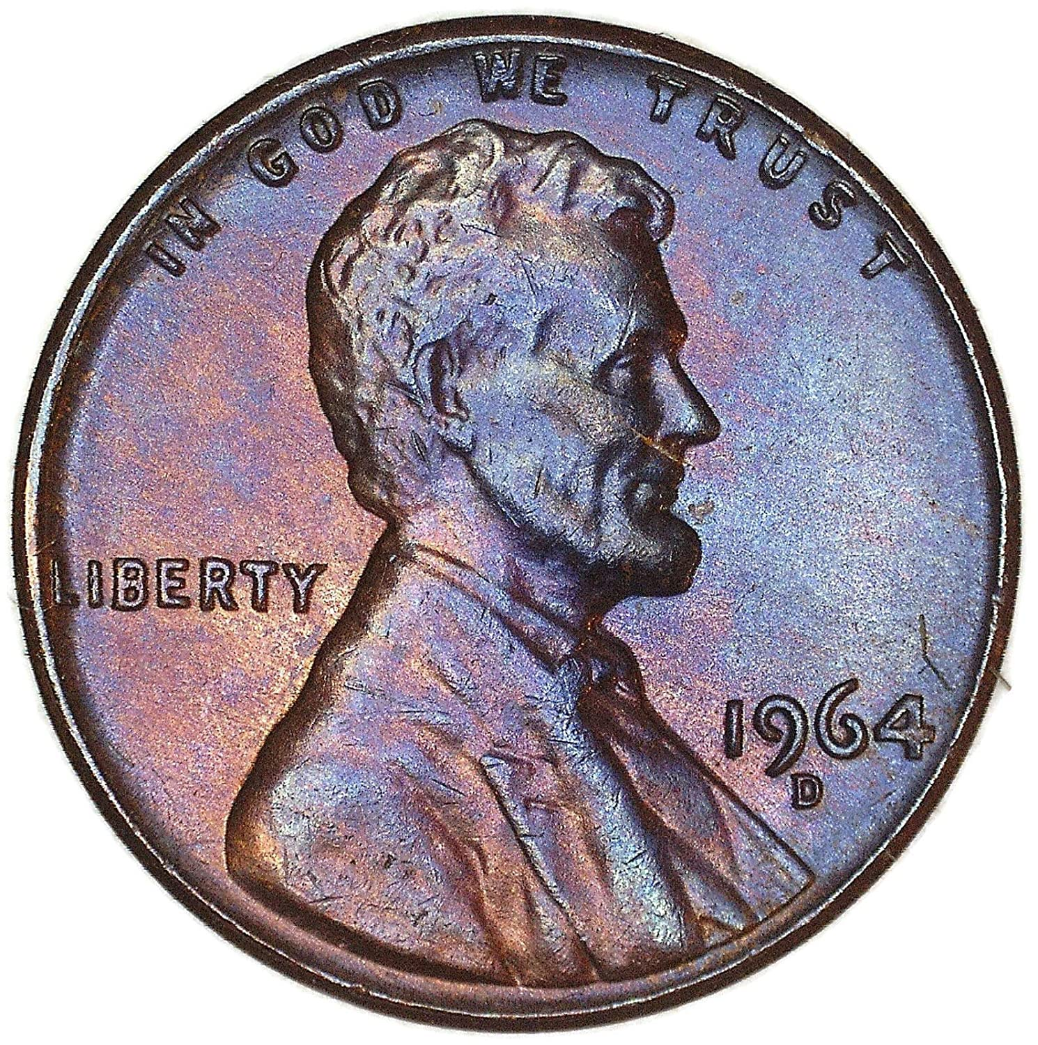 1964 D Lincoln Memorial Cent