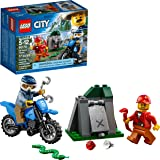 LEGO City Off-Road Chase 60170 Building Kit (37...