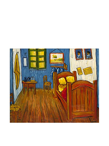Art Dal Mondo Oil Painting on linezo Van Gogh Camera da Letto AD ...