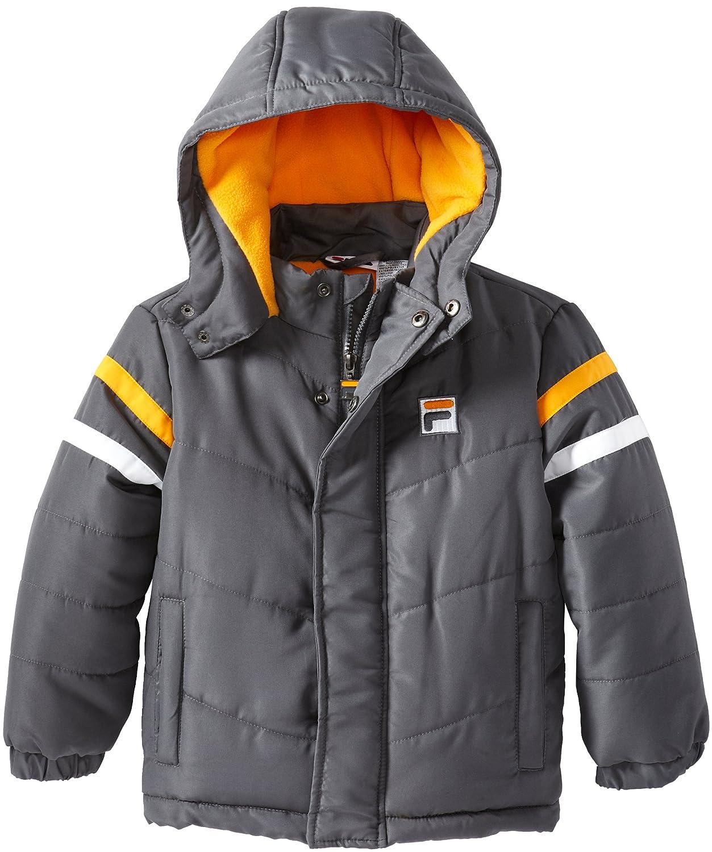 Fila Little Boys Classic Fashion Puffer Coat Fila Boys 2-7 593021
