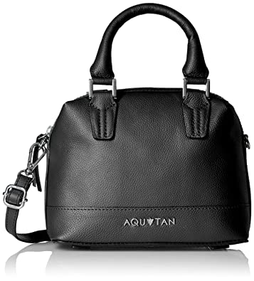Aquatan Women's Headturner Mini Leather Satchel Black AT-S-37