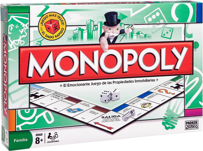 Hasbro M.B. Juegos - Monopoly STD Madrid, Juego de Tablero 00009 - Juego Monopoly Madrid, Juguete / Juego de Mesa A Partir de 8 años: Amazon.es: Juguetes y juegos