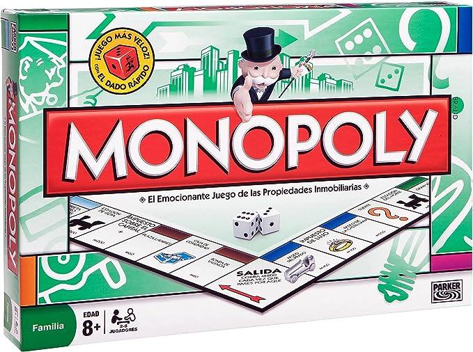 Hasbro M.B. Juegos - Monopoly STD Madrid, juego de tablero 00009 ...