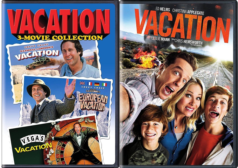 National Set Vegas Movies Ed new Bundle Collection 4 Vacation vacation Amazon W Dvd Vacation Chase com Tv Helms Lampoon European Chevy Vacation amp;
