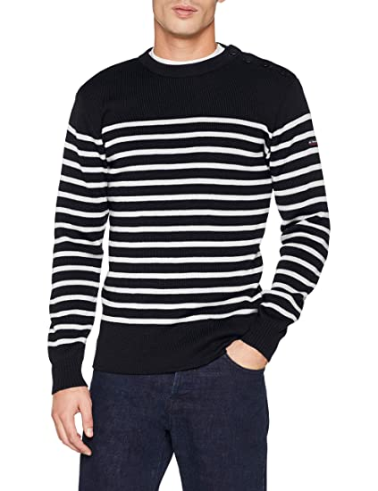 detailed images low price sale save up to 80% Armor Lux Men's Pull Marin Paimpol Homme Jumper: Amazon.co ...