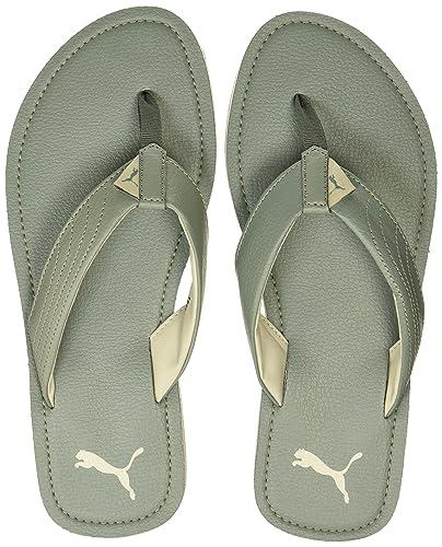 79b3f69bfc Puma Men's Ketava Iii Dp Agave Green and Oatmeal Hawaii Thong Sandals - 7  UK/