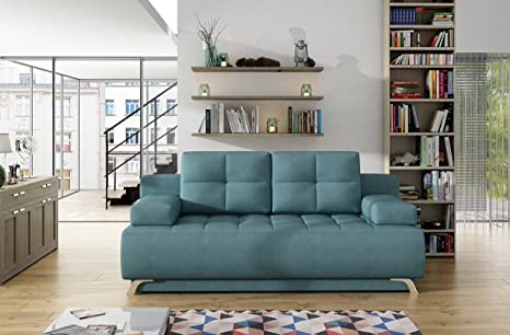 Amazon.com: Oslo Sleeper Sofa (Green): Kitchen & Dining