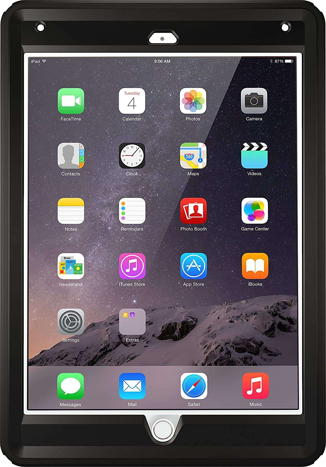 Otterbox Defender Series Case For Ipad Air 2 Black Buy Otterbox Defender Series Case For Ipad Air 2 Black Online At Low Price In India Amazon In