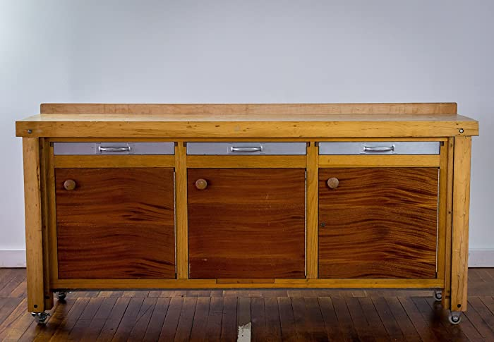 Reclaimed Bowling Alley Credenza U2013 Buffet Table U2013 Console Table