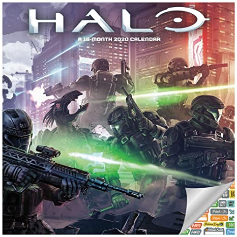 Games Coming Out In September 2020.Amazon Com Halo Calendar 2020 Set Deluxe 2020 Halo Wall