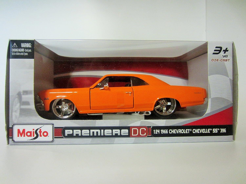 Maisto Premiere Dc 124 1966 Chevrolet Chevelle Ss 396 Toys Games