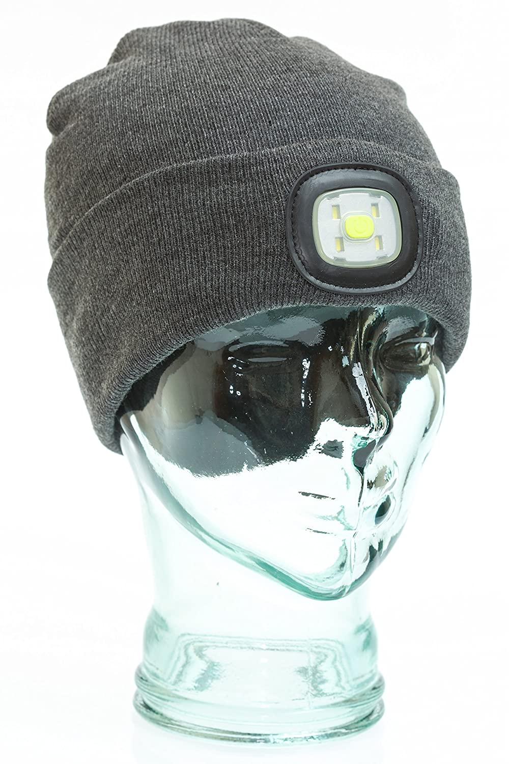 f09f601375868 I Beanie Beanie Hat with Rechargeable LED Lights  Amazon.co.uk  Sports    Outdoors
